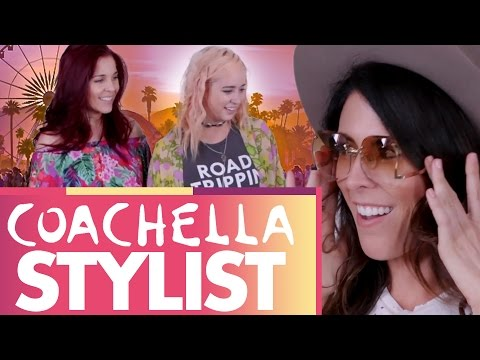 Getting Styled for COACHELLA!!!  (Beauty Trippin)