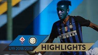 FIORENTINA-INTER 2-1 | Highlights | PRIMAVERA 1 TIM 2018/19 Matchday 05