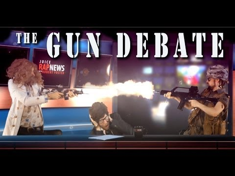 ︻╦╤─ The Gun Debate [RAP NEWS 18]