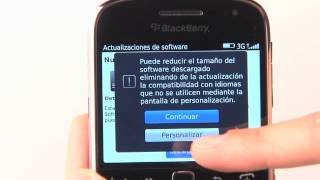 Actualización De Software Para BlackBerry