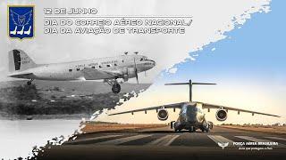 Assista ao videoclipe em homenagem ao Dia do Correio Aéreo Nacional (CAN) e da Aviação de Transporte. A história começou a ser escrita na manhã do dia 12 de junho de 1931, e hoje comemora 90 anos.