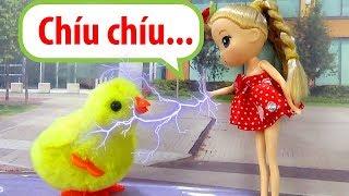 Búp bê baby doll - Chibi đỏ có phép thuật - A194M Nữ hoàng băng giá