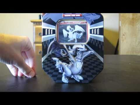 Opening Pokemon Black and White Reshiram Tin (Ultimate Pull!)