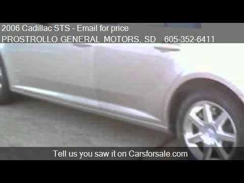 2006 Cadillac STS  for sale in Huron, SD 57350 at PROSTROLLO