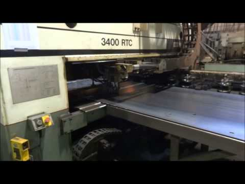 WHITNEY 3400 RTC PUNCH/PLASMA FABRICATING CENTER
