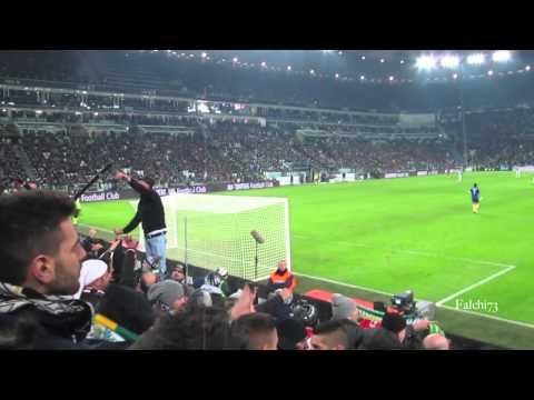 Juventus vs Roma 3-0 Curva Sud 05/01/2014