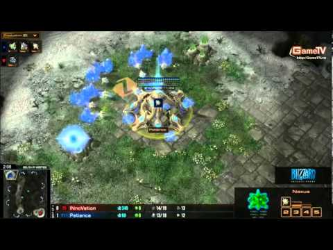 SC2 30 11 INnoVation vs Patience Bo3 set 2