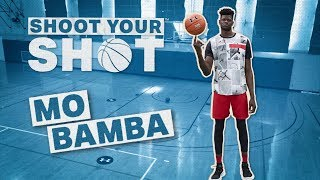 NBA Rookie Mo Bamba Lets It Fly From Range | Shoot Your Shot