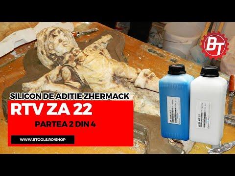 Realizare matrita flexibila din silicon RTV-ZA22  -