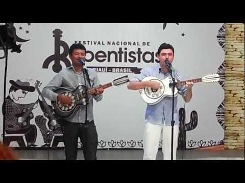 Ismael pereira e Jonas bezerra no 1° encontro nacional de repentista de teresina..mp4