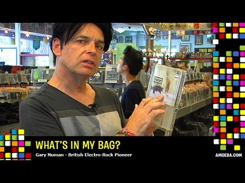 Gary Numan - What's In My Bag?