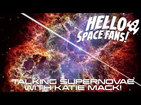 Talking Supernovae with Katie Mack! | Space Fan Conversations