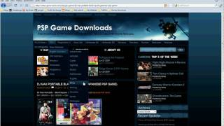 How To Download Free PSP Games, PSP Movies, & PC Games
