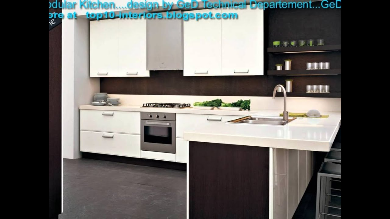 Latest top10 modular modern kitchen part8 youtube for Modular kitchen designs youtube