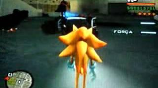 GTA Do Sonic Policia Sempre Atrapalhada No GTA
