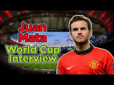 Juan Mata World Cup 2014 video interview