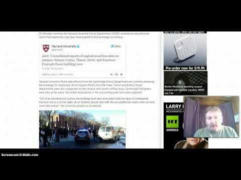 Breaking! Harvard University Evacuated! Bomb Threat! Explosives Feared At 4 Locations!