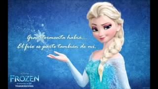 Libre Soy Frozen Letra (Carmen Sarahí)