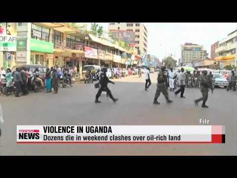 Tribal uprising over oil-rich land in Uganda kill dozens