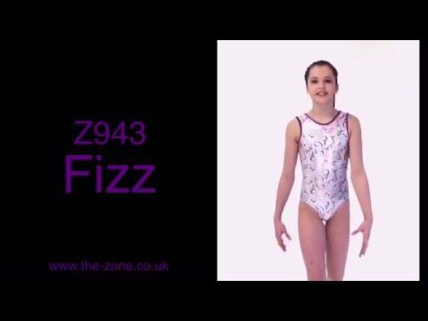 Fizz Print Gymnastics Leotard