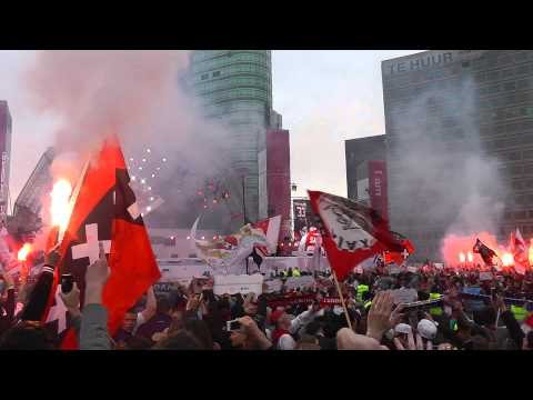 We are the champions - Huldiging Ajax - kampioen 2013 - 2014