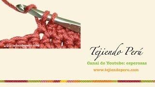 Crochet: Cómo Tejer El Punto Bajo Extendido