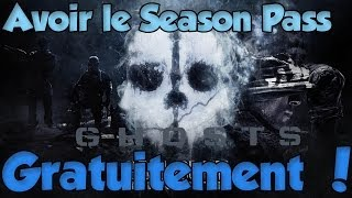 Cod Ghosts Avoir Le Season Pass GRATUITEMENT (Moins Cher