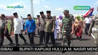 Kedatangan Jemaahn Haji Kapuas Hulu Tahun 2018