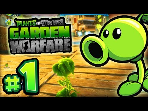 Plants vs Zombies: GARDEN WARFARE! - #1 LIVE w/ Ali-A! -
