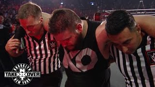 Officials help Kevin Owens to the back: WWE.com Exclusive, August 22, 2015