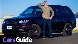Range Rover SVAutobiography Dynamic 2017 review: road test video