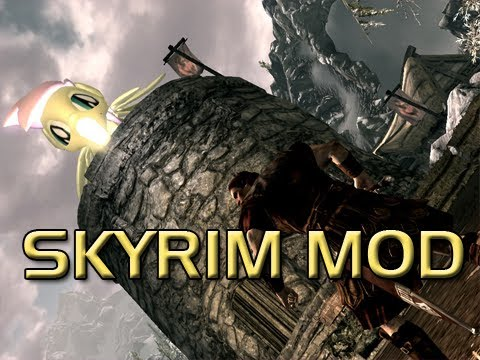 Elder Scrolls V Skyrim Mods - My Little Pony Dragon Texture Skin Mod