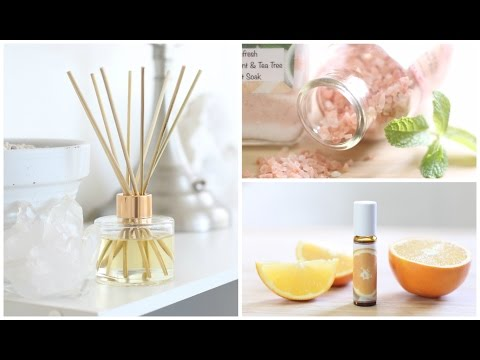 DIY Aromatherapy Ideas | Home + Body