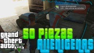 GTA V-Como Armar Coche Alien-Localizacion 50 Piezas