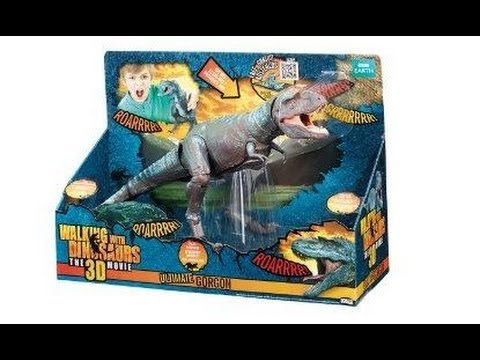Dinovember! Walking with Dinosaurs 3D Ultimate Gorgon, Giveaway update, and more...