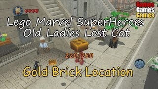 Lego Marvel Super Heroes Old Ladies Missing Cat Location