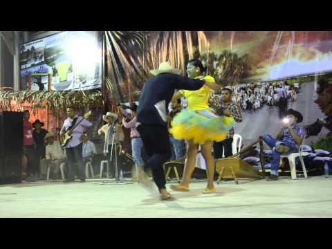 Baile de joropo de Yormán Aguirre y Leidy Tovar, Barinas