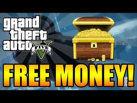 GTA 5 - How To Get Free Money! +