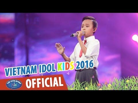 VIETNAM IDOL KIDS 2016 - GALA 2 - BÔNG HỒNG CÀI ÁO - HỒ VĂN CƯỜNG