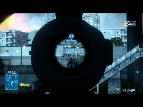 Battlefield 3 Multiplayer: Large Conquest on Tehran Highway (64-17) (PC, Ultra, 1080p)