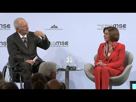 慕尼黑安全会议 中美猛烈交火:傅莹赢了佩洛西?