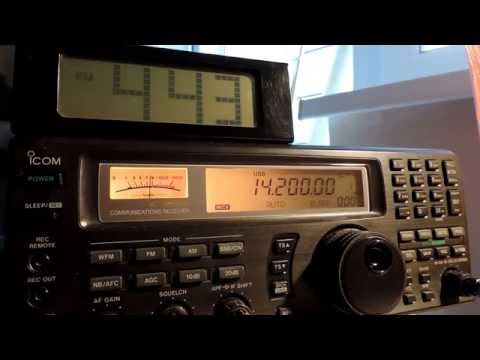 14200kHz,Ham Radio,HZ1MX(Saudi Arabia)