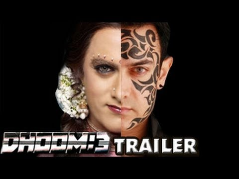 DHOOM:3 Theatrical Trailer - Aamir Khan | Abhishek Bachchan | Katrina Kaif | Uday Chopra