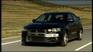 Die Mitsubishi-Story: Fahrbericht Lancer Evo X videos