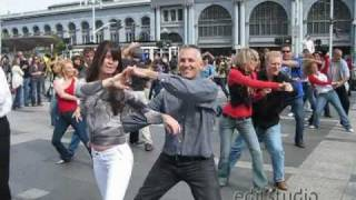 West Coast Swing Flash Mob @ Ferry Building In San