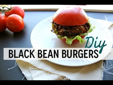 DIY Black Bean Veggie Burgers Recipe