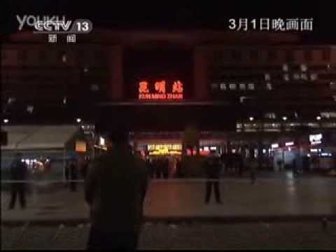3-1 Kunming Railway Station terrorist attack leaves at least 33 dead