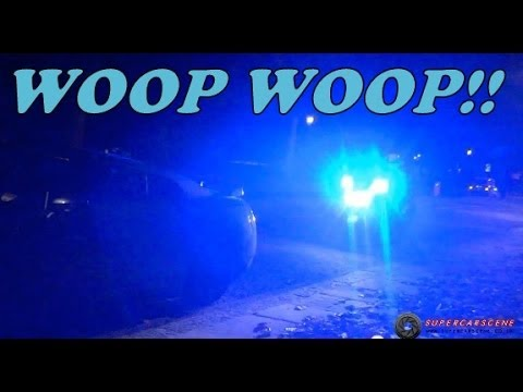 FUNNY Police SHOW OFF to Supercar Owners!!