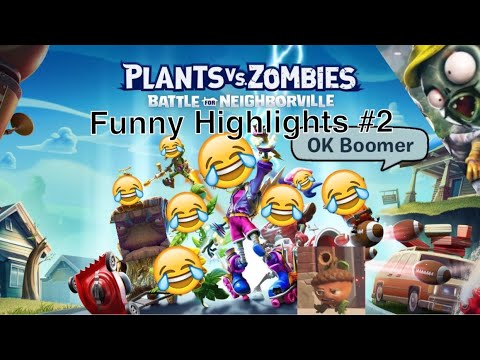 Plants Vs. Zombies: Battle For Neighborville Funny Highlights #2