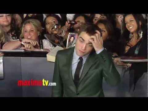 "Robert Pattinson TWILIGHT ""Breaking Dawn Part 2"" Premiere ARRIVALS"